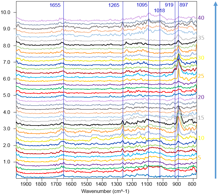 Point Spectra of Grenoble Meteorite Region with Phyllosilicates and Organics